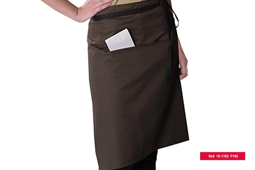 Dennys-apron-red